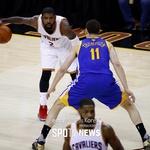 [NBA 파이널5 프리뷰] CLE 어빙 vs GSW 톰슨, 누가 다시 웃을까(영상)