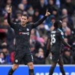 [EPL 3줄요약] '아자르 2골' 첼시, 브라이튼에 4-0 완승…'3위 올라'