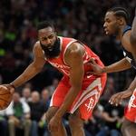 [NBA PO] '3쿼터에만 50점' 공격 폭발한 휴스턴, 미네소타 완파