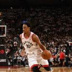 [NBA PO] '드로잔 32점' 토론토, PO 2라운드 진출까지 '-1승'