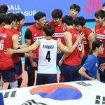 [VNL] '문성민-정지석 맹활약' 한국, 중국 꺾고 목마른 첫 승 성공