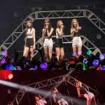 EXID, 日 데뷔 쇼케이스 마무리…솔지 깜짝 전화 연결