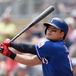 "MLB.com ""TEX, 추신수 홈런 이후 라디오 들리지 않아"""