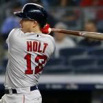 [ALDS] '홀트 PS 최초 사이클링 히트' 보스턴, 양키스에 16-1 대승