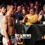 [UFC 현장] '아쉬운 보너스' 정찬성…파이트 오브 더 나이트 선정