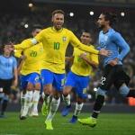 [A매치 REVIEW] '네이마르 결승 PK골' 브라질, 우루과이에 1-0 승리