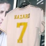 'NO.7' 아자르 유니폼, 레알 공식 스토어 깜짝 등장