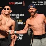 [UFC 계체 영상] '상남자' 퍼거슨과 세로니, 사우나에서 의기투합