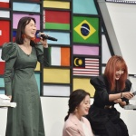[LIVE 포토]이지혜-나르샤, 노래대결... 나르샤 판정승?!