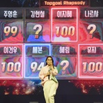 [LIVE 포토]'탑골랩소디' 글로벌 가왕 야부 제니린, 심사위원들의 100점 세례