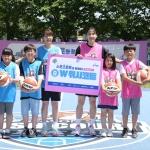WKBL의 'W위시 코트 시즌3', 강화군에서 코트 기증식 진행