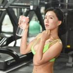 [LIVE 포토]'맥심 모델' 안소영, 물 마시는 모습조차 섹시해