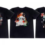 kt, 조용호-배정대-주권 특별 티셔츠 출시