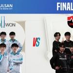 2020 LoL KeSPA Cup ULSAN 결승, 담원 vs 농심 대진 완성