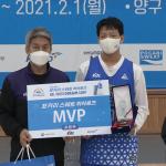 SK 나이츠 연고선수 강민성, KBL 드림캠프 MVP 수상