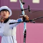 [SPO 도쿄] 안산, 日 귀화 선수 꺾고 8강행…첫 3관왕 보인다!