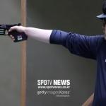 [SPO 도쿄] '아깝다' 한대윤, 25m 속사권총 결선에서 슛오프 끝에 4위