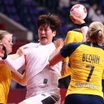 [SPO 도쿄] 유럽의 벽은 높았다…女 핸드볼, 스웨덴에 30-39 패배…8강에서 좌절