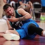 "[SPO 도쿄] 뿔난 돈치치, 기자들 째려보며 ""FIBA는 행복할 걸?"""
