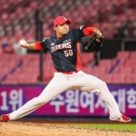 [SPO 잠실] 'KIA 강한 뒷문' 장현식, 구단 최초 30홀드 달성